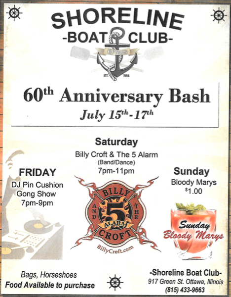 Shoreline 60th Anniversary Bash